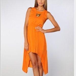 BB Dakota high low dress, size XS